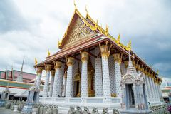 Art of Buddhism Architecture - House of worship to pray. Art of Buddhism Thailand Architecture - House of worship to pray for Buddhism very beautiful. she take a Stock Photo