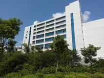 Art Building im Ostbezirk von Hechi-College lizenzfreie stockfotografie