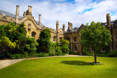 Art Cambridge University College Imagem de Stock
