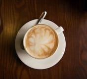 Art Cappuccino Foto de archivo