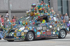 Art Car lizenzfreie stockfotografie