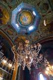 art ceiling chandelier Στοκ φωτογραφία με δικαίωμα ελεύθερης χρήσης