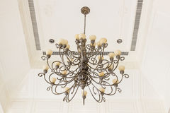 Art ceiling light Royalty Free Stock Image