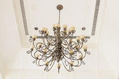 Art ceiling light Royalty Free Stock Image