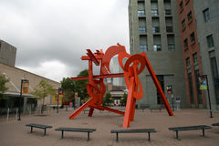 Art center in Denver, Colorado Royalty Free Stock Photo