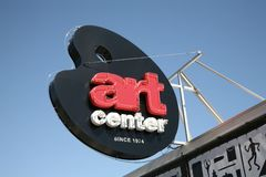 Art Center Memphis, TN Royalty Free Stock Images