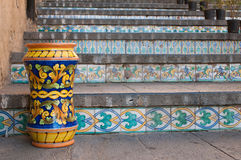 Art of ceramic in Sicily Royalty Free Stock Photography