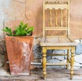 Art Chair Royaltyfria Foton