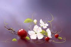 Art cherry Stock Photography