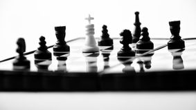 The art of chess Stock Image