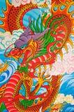 Art Chinese-stijl het schilderen Stock Foto
