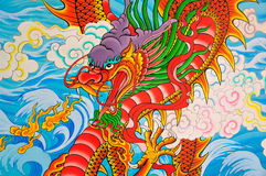 Art Chinese style painting Stock Photography
