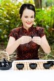 art chinese tea Στοκ εικόνα με δικαίωμα ελεύθερης χρήσης
