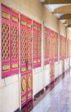 Art of Chiness temple Royalty Free Stock Images