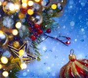 Art Christmas background Royalty Free Stock Image