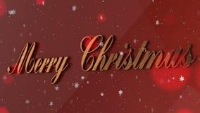 Art Christmas background stock video