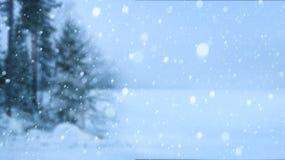 Art Christmas background. Art winter Christmas snowy background royalty free stock photo