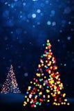 Art Christmas bakgrundskort Arkivbilder