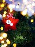 Art Christmas card background Stock Images