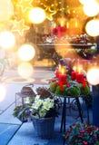 Art Christmas Crafts Fair; European Christmas Market Scene; royalty free stock photography