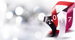 Art Christmas, decoración 2017 del Año Nuevo Imágenes de archivo libres de regalías