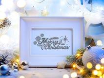 Art Christmas decoration Royalty Free Stock Photography