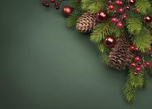 Art Christmas greeting card Stock Photo