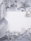 Art Christmas greeting card Stock Photos