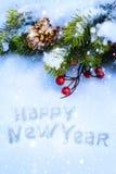 Art Christmas-Hintergrund Stockfoto