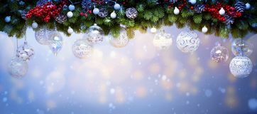 Art Christmas holiday decoration; Christmas background