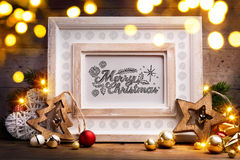 Art Christmas holidays  background Stock Image
