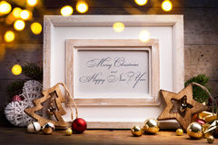 Art Christmas holidays decoration Royalty Free Stock Images