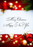 Art christmas holidays frame Royalty Free Stock Photo