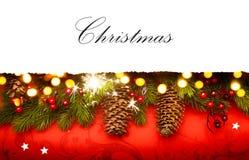 Art Christmas invitation background royalty free stock image