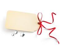 Art Christmas sales tag Royalty Free Stock Image