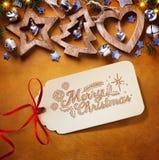 Art Christmas tree decoration; Christmas Background Royalty Free Stock Photos