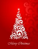 Art Christmas tree Royalty Free Stock Images