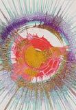 Art Circle Background abstrait illustration stock