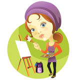 Art class Royalty Free Stock Photo