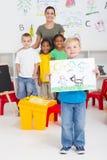 Art class Stock Images