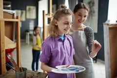 Art Class For Children Stock Photography