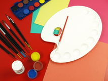 Art classes Royalty Free Stock Image