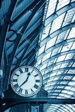Art Clock in the subway station Royalty Free Stock Photo