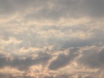The art Cloud Sky by wind Royalty Free Stock Image