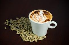Art coffee Stock Photography