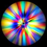 Art coloré d'abrégé sur puissance de méditation photo stock