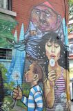 Art coloré de rue Photos libres de droits