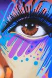 Art coloré de rue dans NYC Photo libre de droits