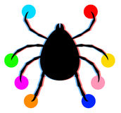 Art color animal Stock Photography