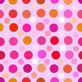 Art color dots generated seamless texture Stock Photos
